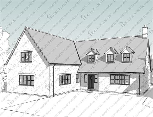 House plans uk architectural plans and home designs for Dormer house plans designs