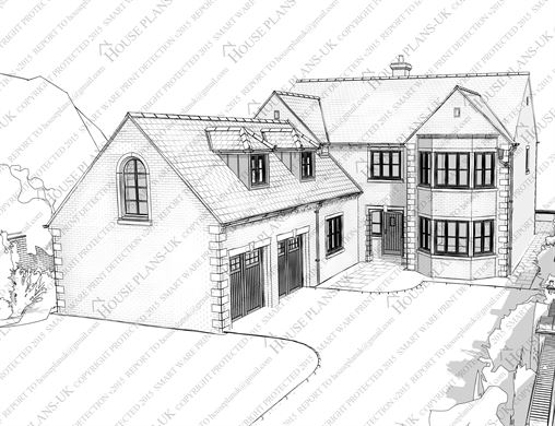 Architectural Drawings Of Houses