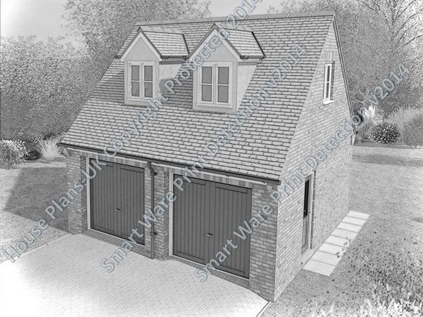 House plans uk architectural plans and home designs for Garage with accommodation