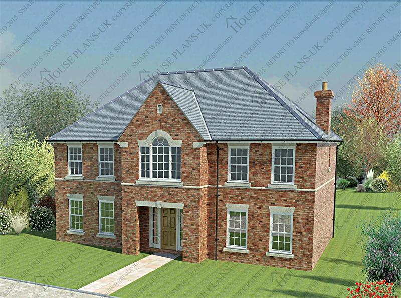 House Plans UK Architectural Plans And Home Designs Bed - 5 bedroom house designs uk