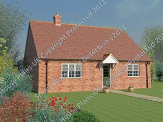 Design no 136 2 Bed Bungalow