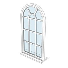 window 1 Arched