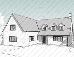 Design 141 4 Bed Dormer Bunglow