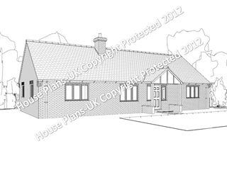 Design no 124 3 Bed Bungalow