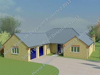 Design no 115 Bungalow 3 Bed