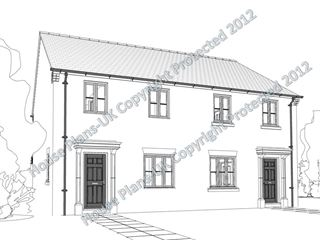 Design no 132 2 Bed End Terraced
